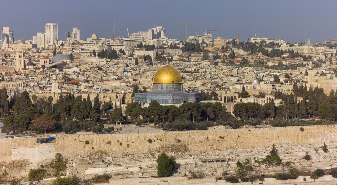 Israel-2013(2)-Jerusalem-View of the Dome of the Rock & Temple Mount 02