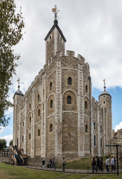 London, Tower of London, White Tower -- 2016 -- 4681-2