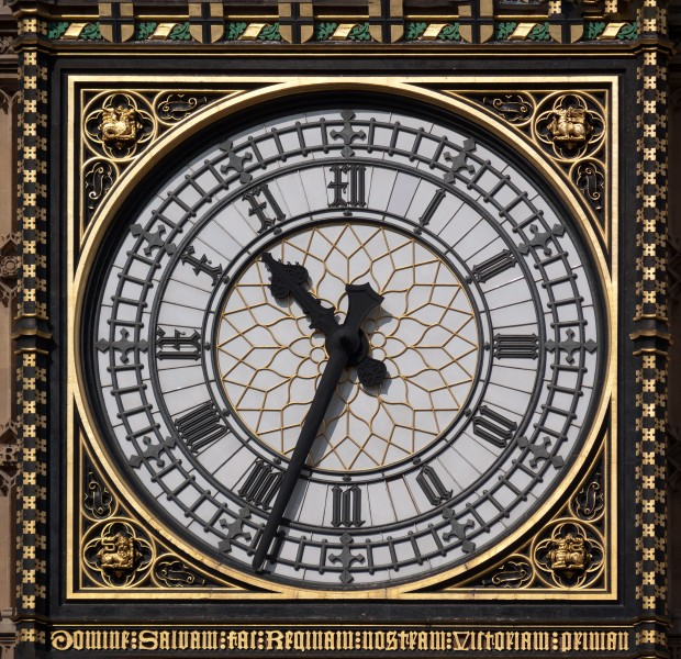 London Big Ben Inner Clock Face 1070925-PSD