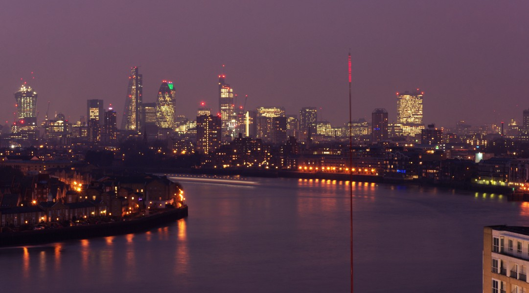 London MMB »055 River Thames and The City