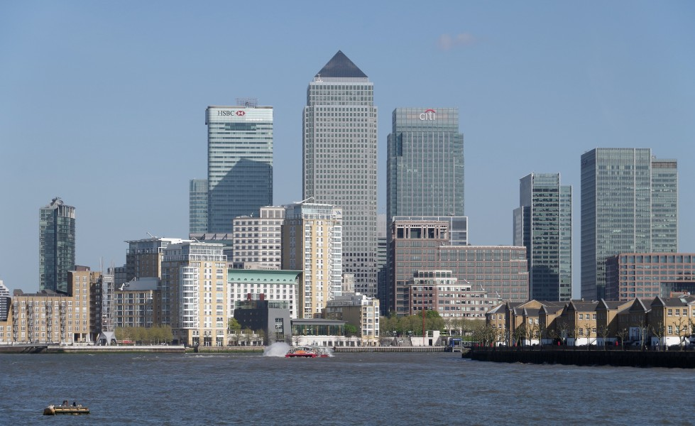 London MMB »0M6 River Thames and Canary Wharf