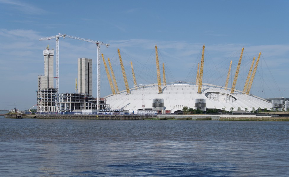 London MMB »1F6 River Thames and Millennium Dome