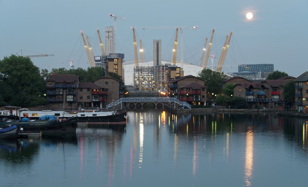 London MMB »1P9 Blackwall Basin and the Millennium Dome
