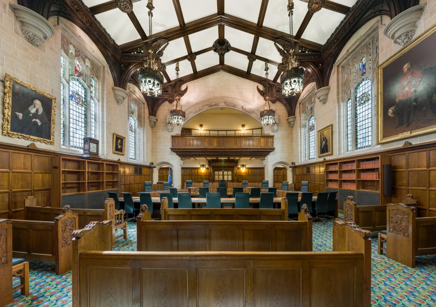 Supreme Court of the United Kingdom, Court 1 Interior, London, UK - Diliff