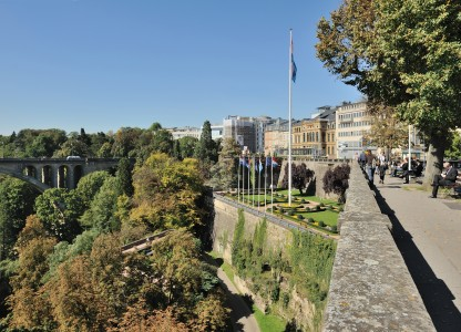 Luxembourg City fortress Petrusse valley 01