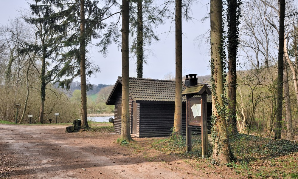 Luxembourg Bridel Steinsel Gipsweier Cabane