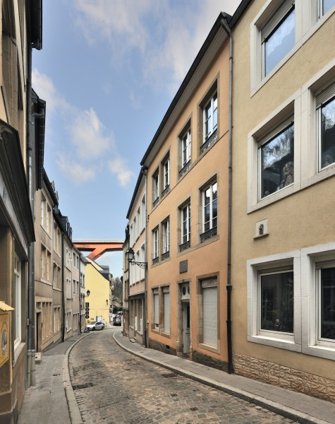 Luxembourg City Pfaffenthal rue L Menager 01