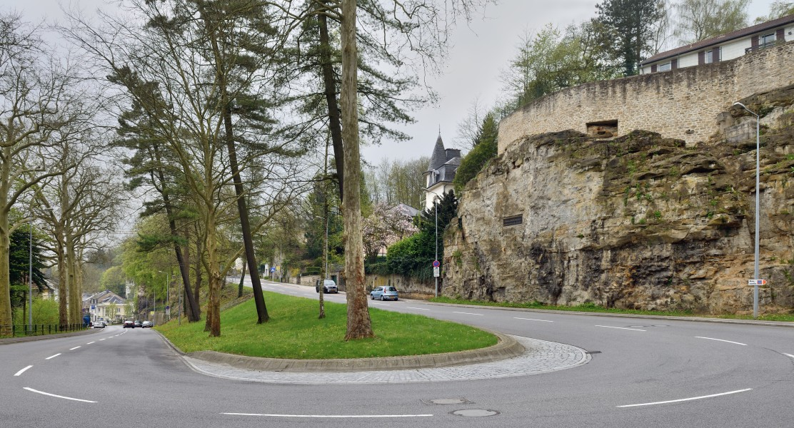 Luxembourg City rue des Glacis