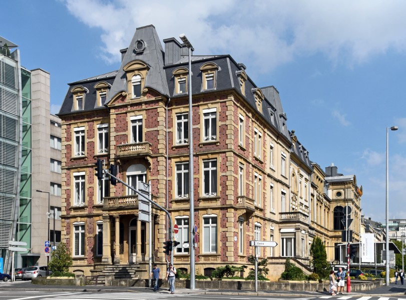 Maison Servais bvd Royal Luxembourg-ville