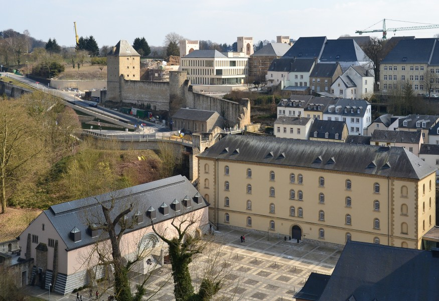 Neumünster Abbey, Luxembourg City