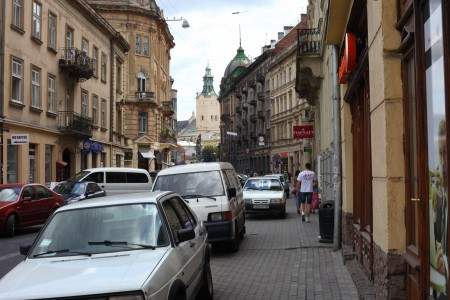 Lviv city downtown, Ukraine, Europe, picture 7