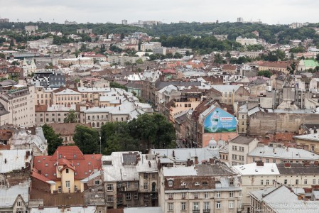Lviv city in Ukraine photographed in June 2016, picture 4