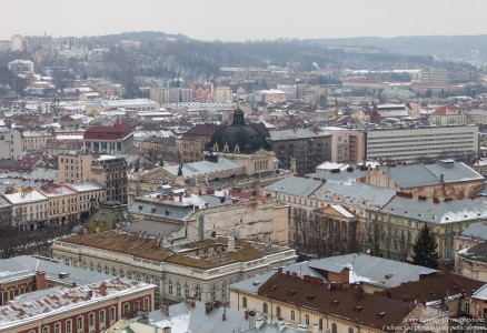 Lviv, Ukraine in February 2015, picture 1