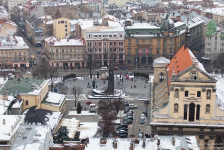 Lviv, Ukraine in February 2015, picture 2
