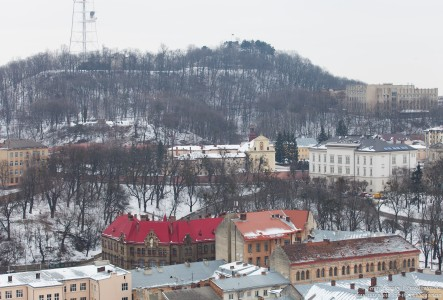 Lviv, Ukraine in February 2015, picture 7