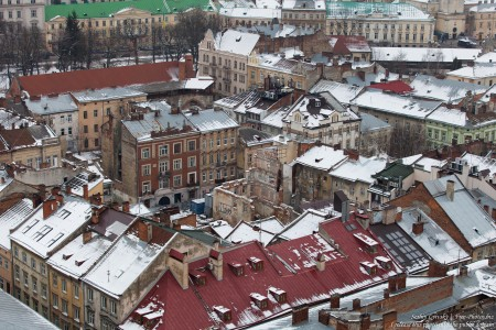 Lviv, Ukraine in February 2015, picture 9