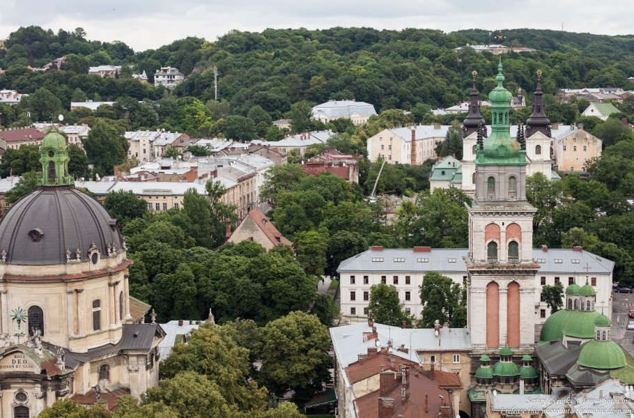 Lviv city in Ukraine photographed in June 2016, picture 6