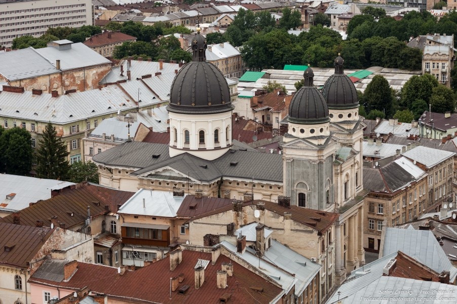 Lviv city in Ukraine photographed in June 2016, picture 10