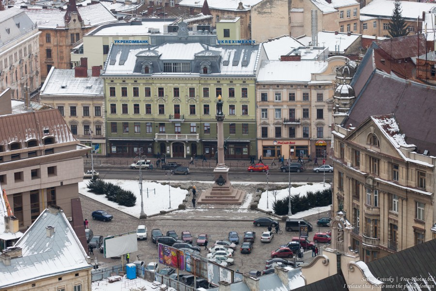 Lviv, Ukraine in February 2015, picture 4