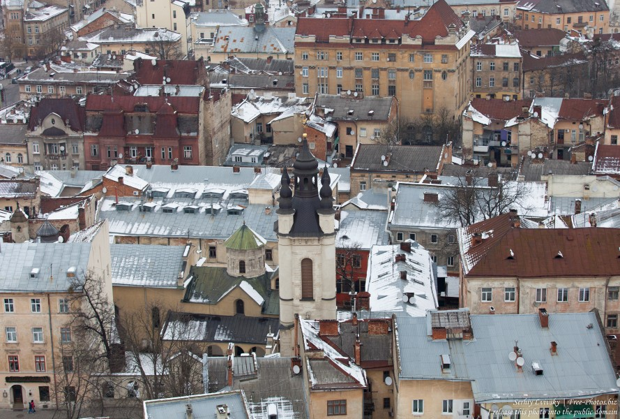 Lviv, Ukraine in February 2015, picture 5