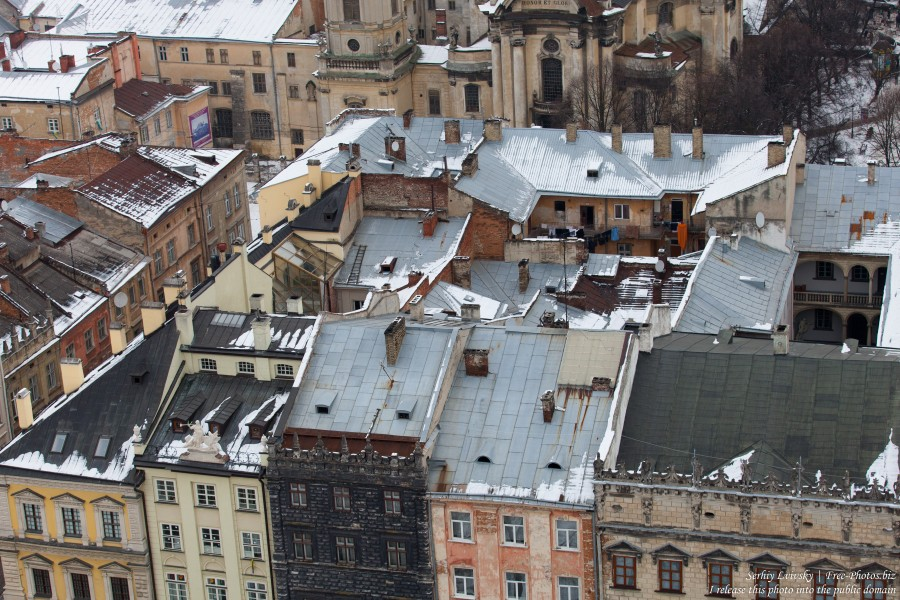 Lviv, Ukraine in February 2015, picture 8