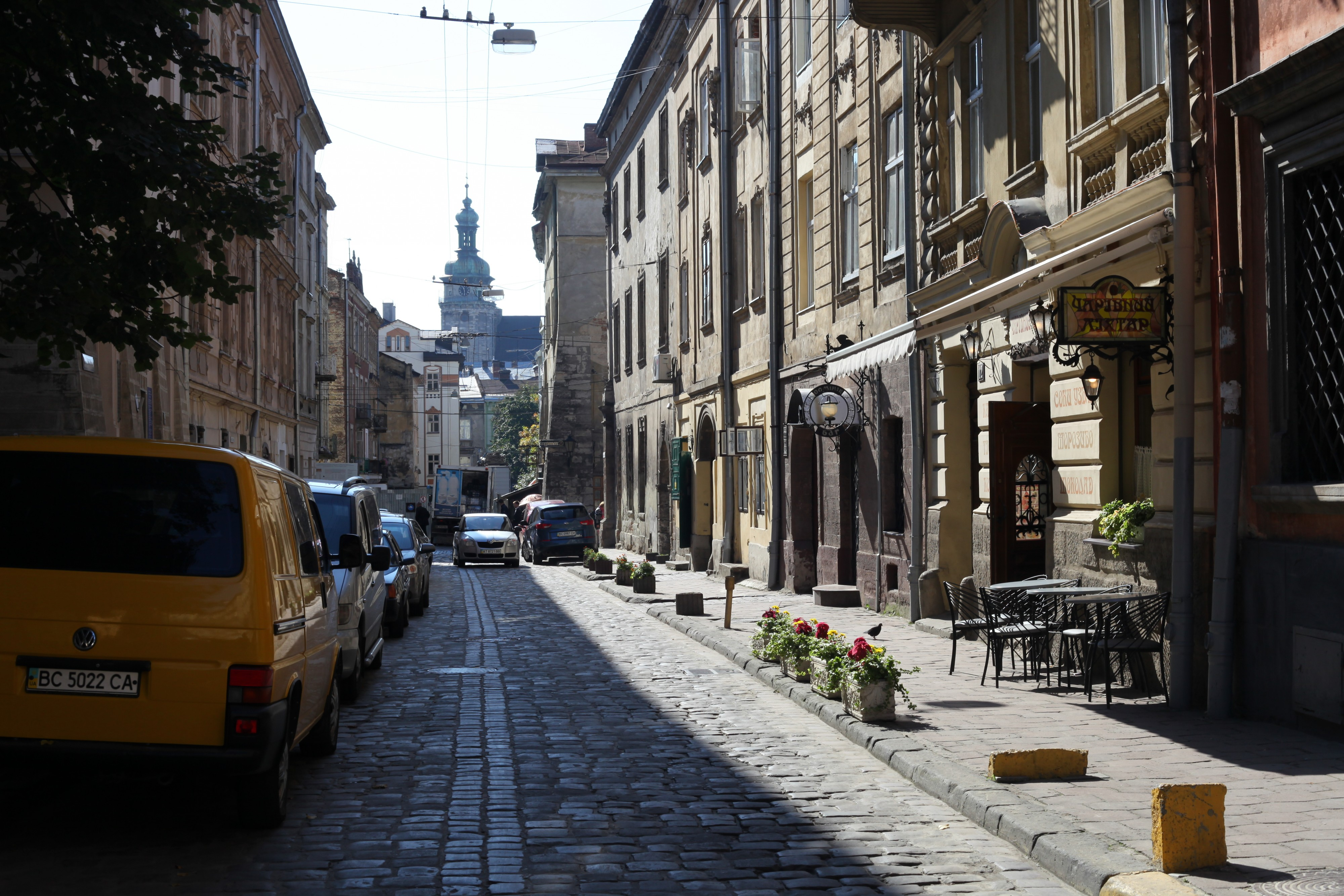 Lviv city downtown, Ukraine, Europe, September 2012, picture 1