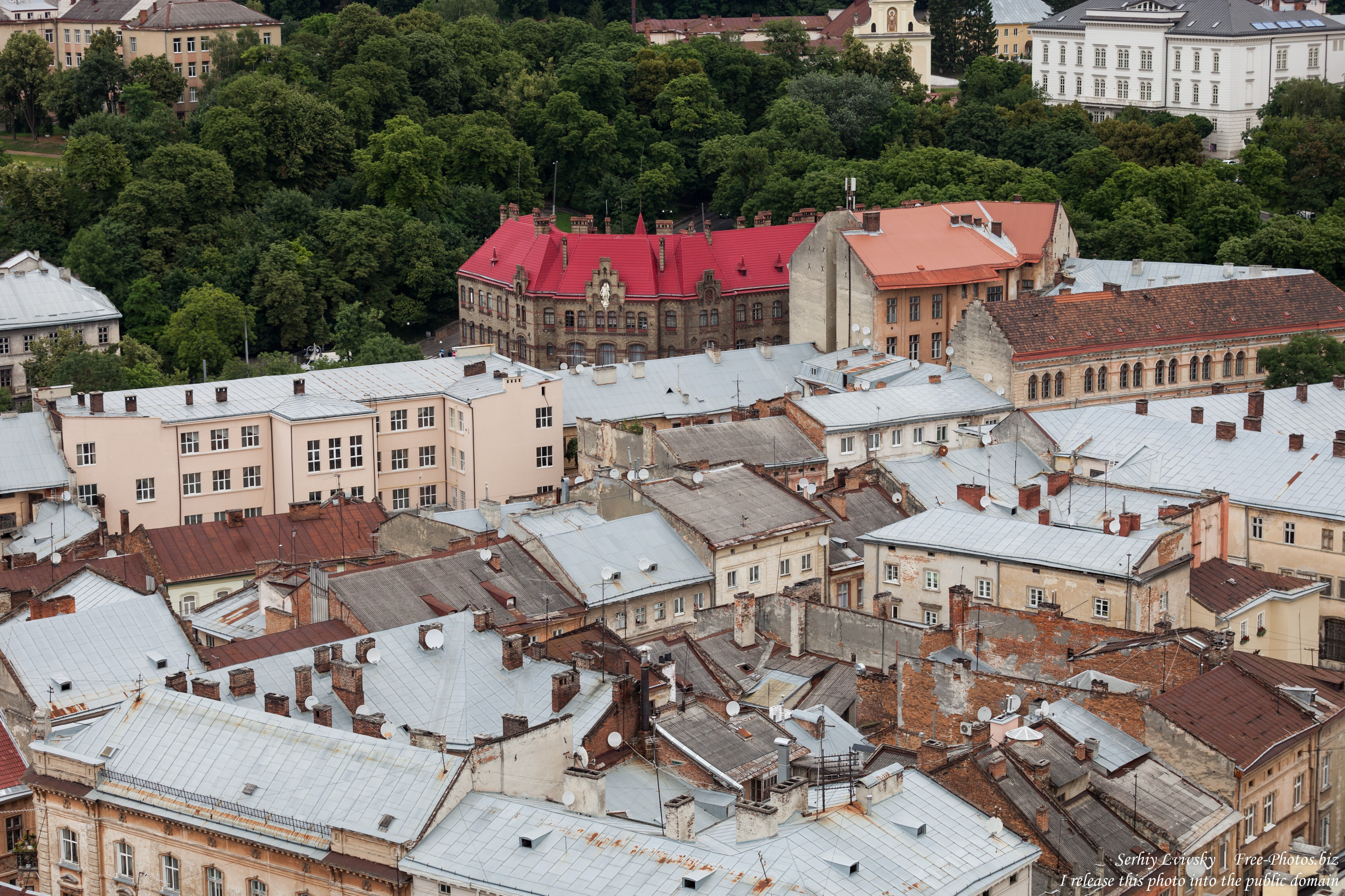 Lviv city in Ukraine photographed in June 2016, picture 11