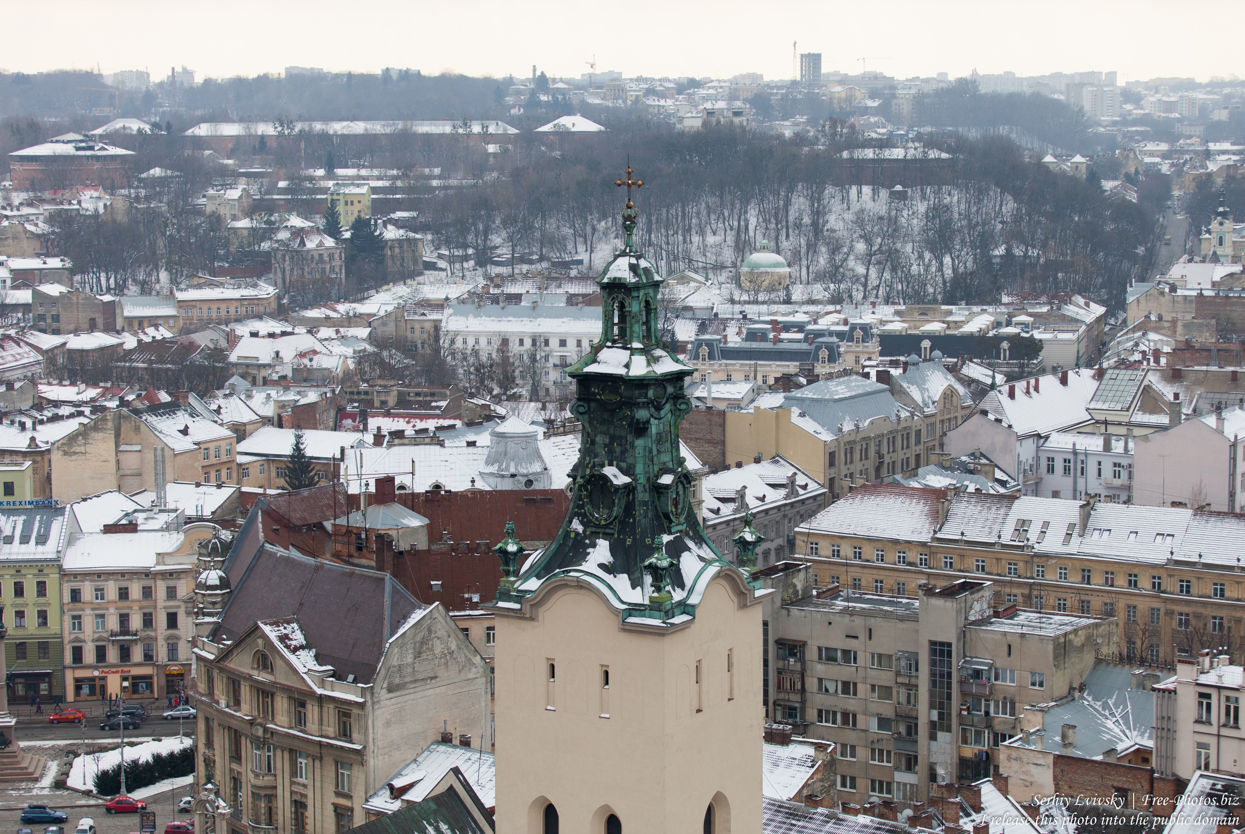 Lviv, Ukraine in February 2015, picture 3