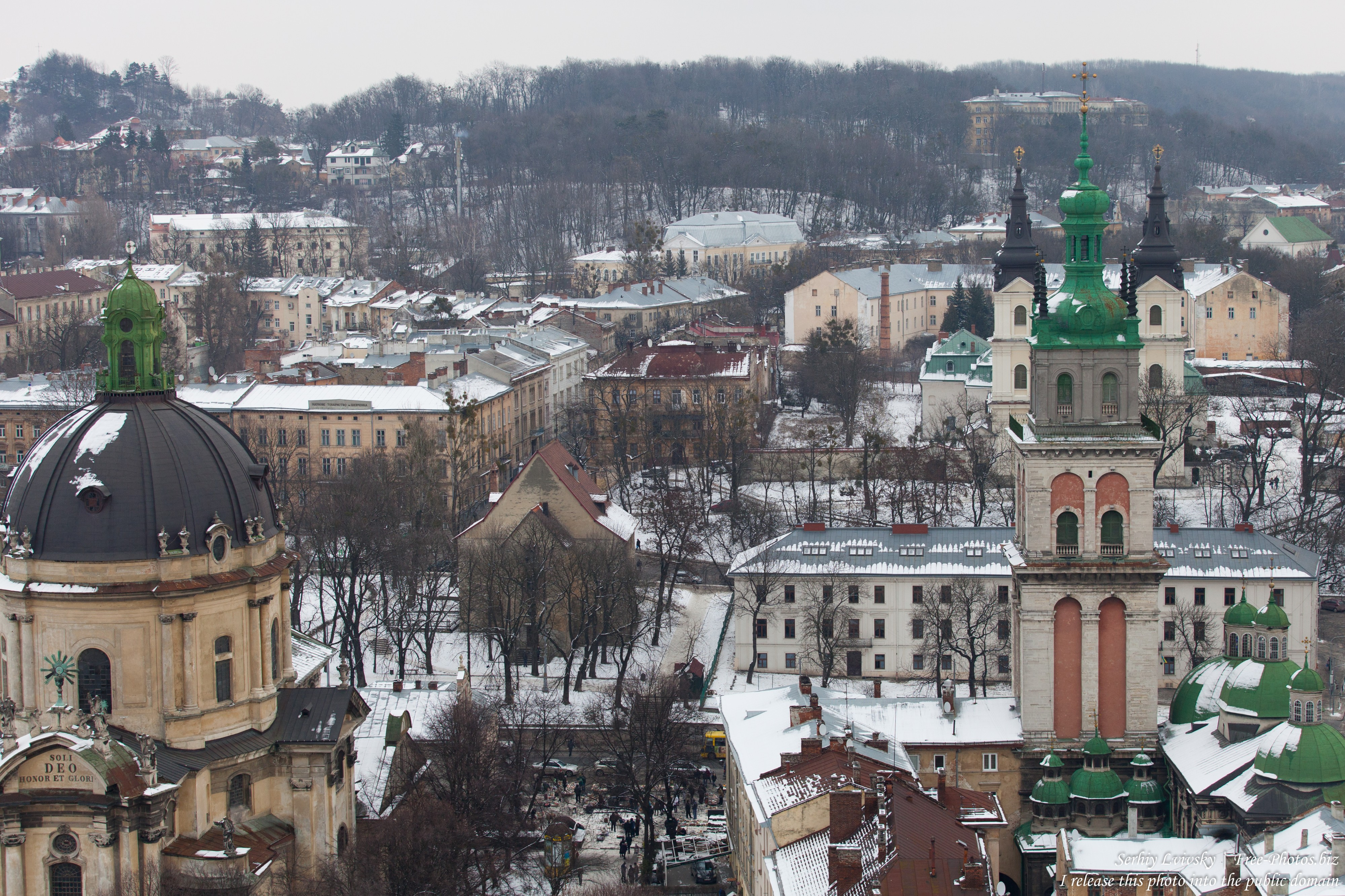 Lviv, Ukraine in February 2015, picture 6