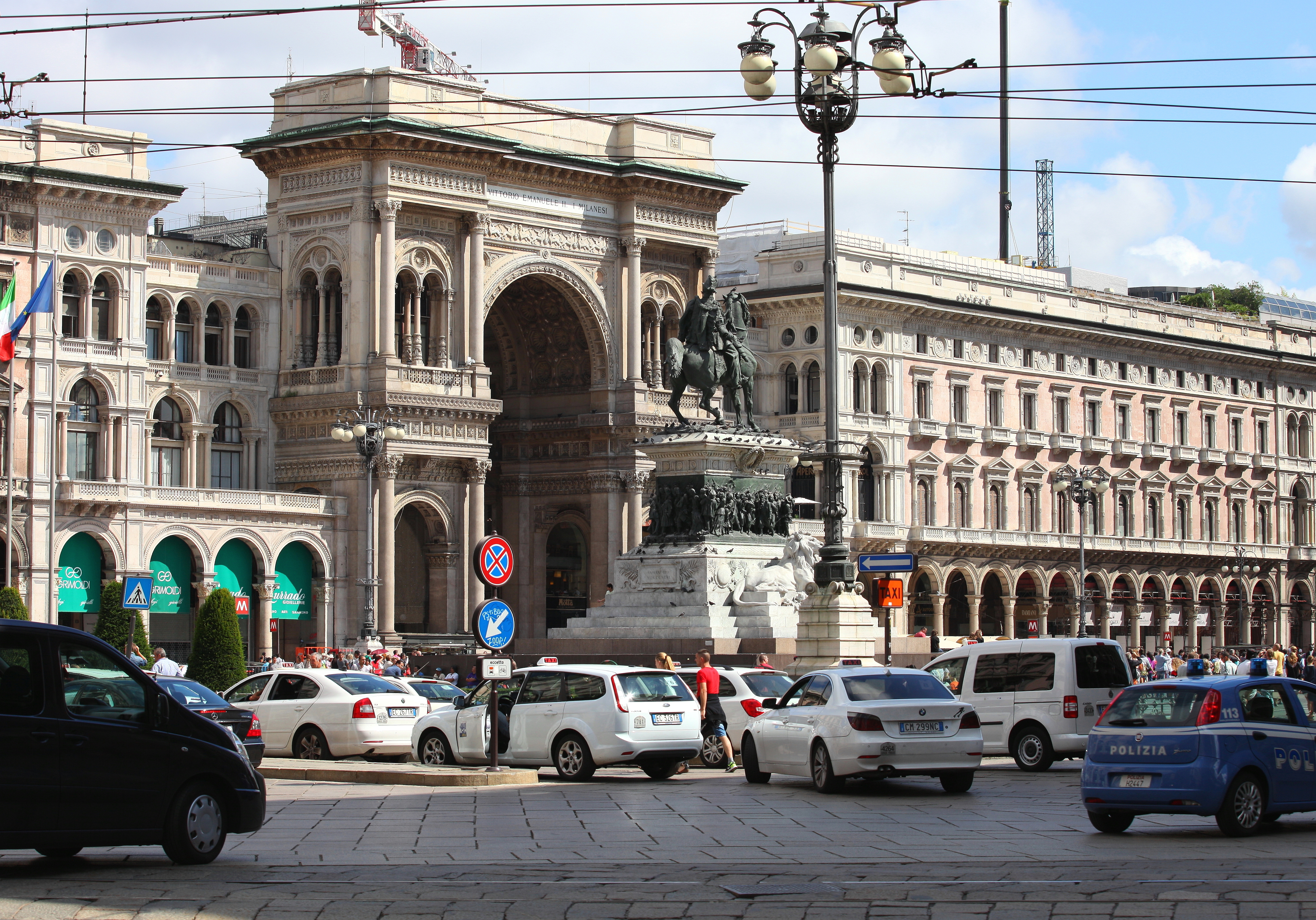 Galleria Vittorio Emanuele II, Milan, Italy, European Union, August 2013, picture 24