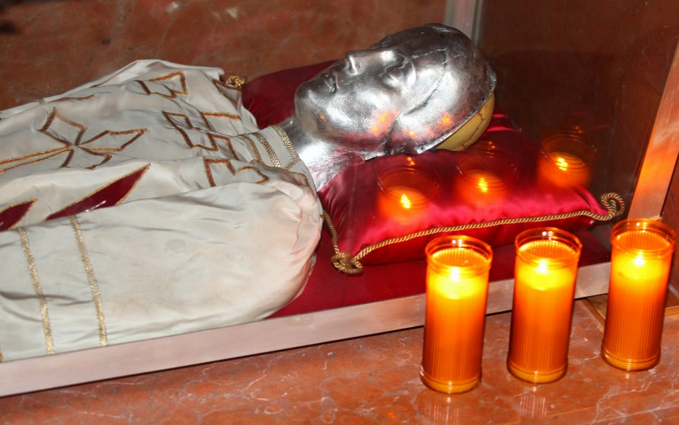 relics of a saint in a church in Milan, Italy, European Union, August 2013, picture 18