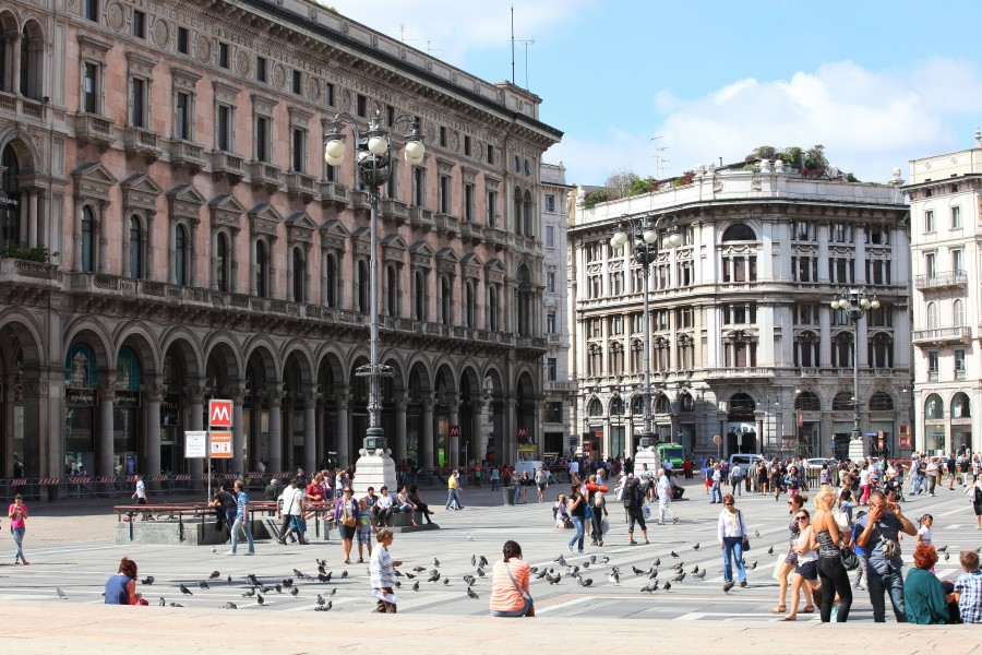 Milan, Italy, European Union, August 2013, picture 30