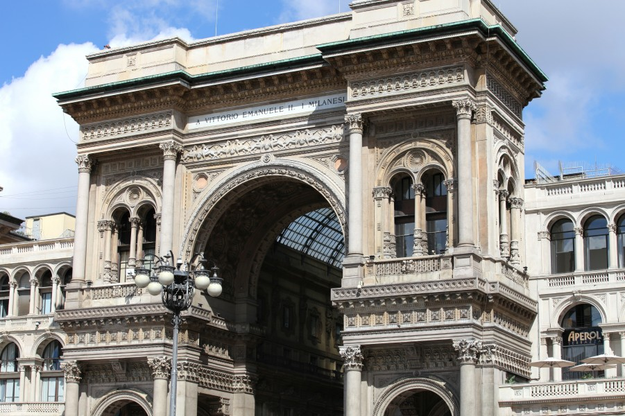 Galleria Vittorio Emanuele II, Milan, Italy, European Union, August 2013, picture 31