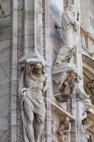 Milan Cathedral, Milan, Italy, European Union, August 2013, picture 33