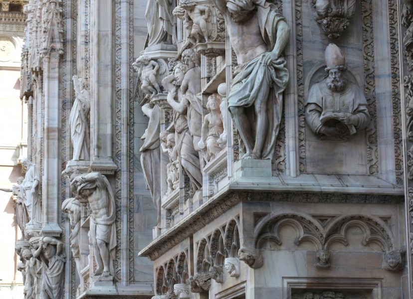 Milan Cathedral, Milan, Italy, European Union, August 2013, picture 38