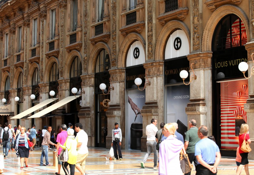 the Galleria Vittorio Emanuele II, Milan, Italy, European Union, August 2013, picture 43