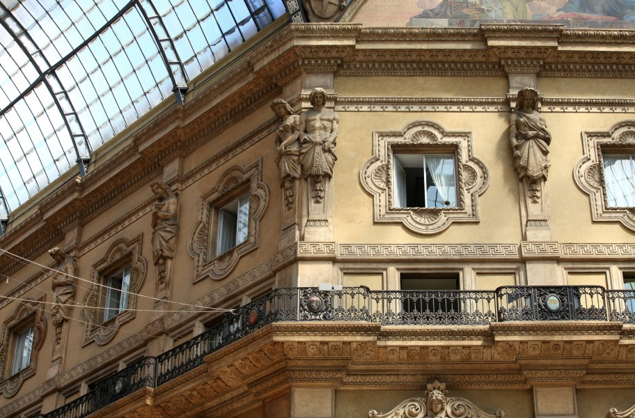 Galleria Vittorio Emanuele II, Milan, Italy, European Union, August 2013, picture 44
