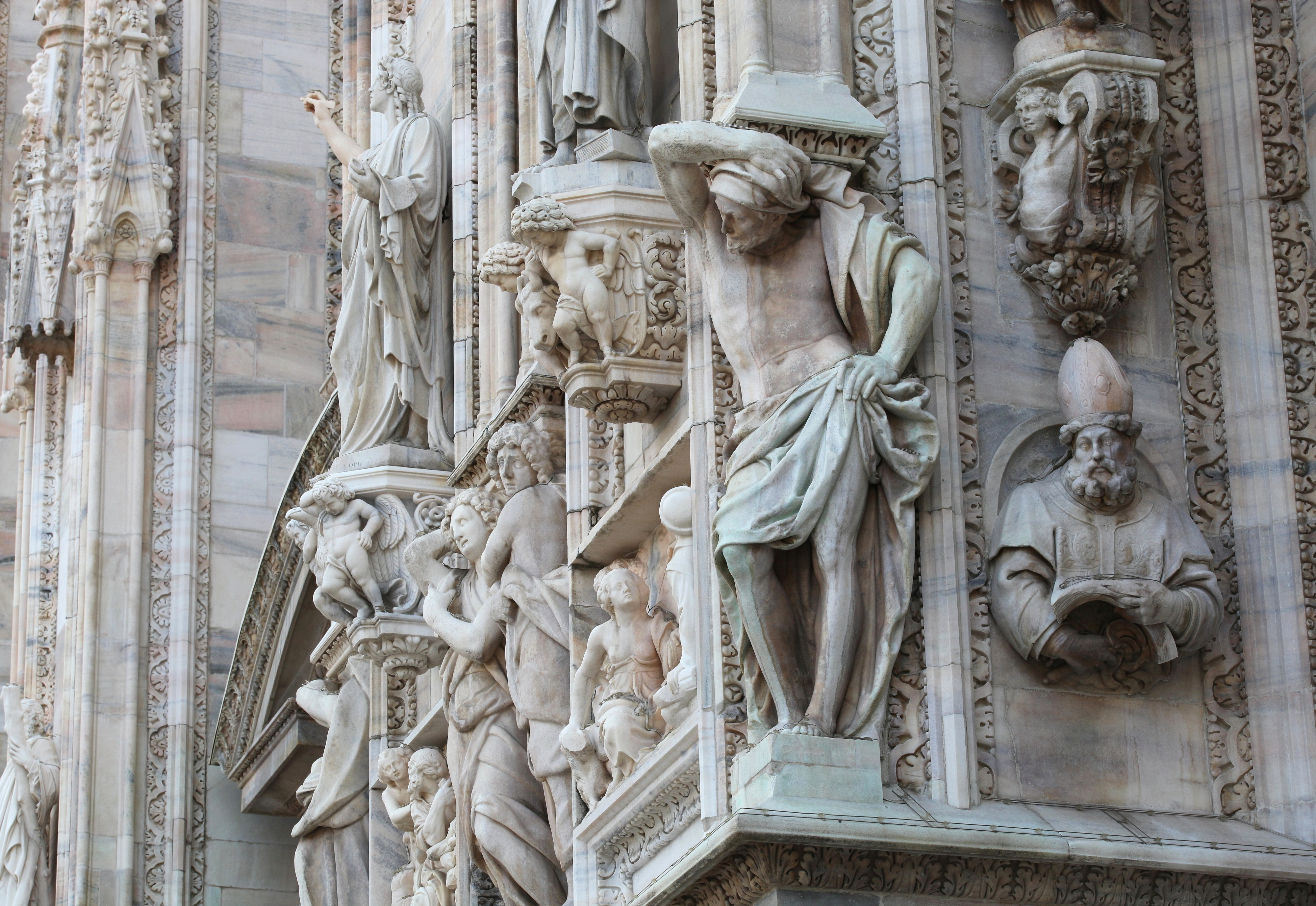 Milan Cathedral, Milan, Italy, August 2013, picture 36