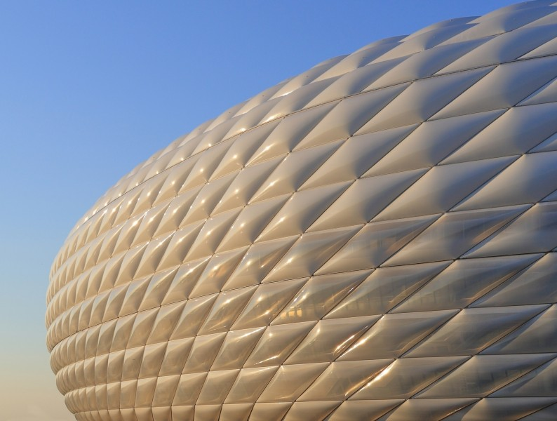 Allianz Arena Exterior Detail