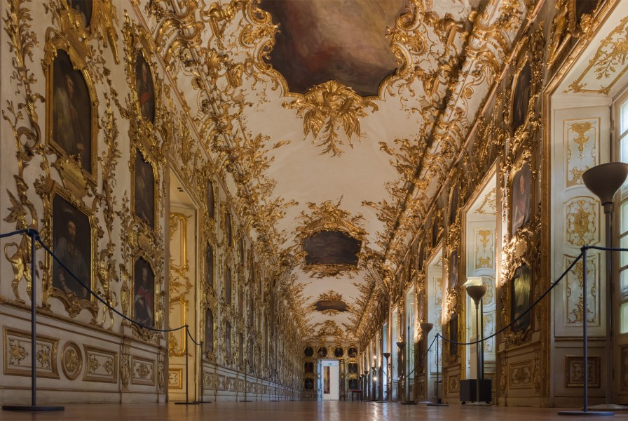 Gallery portraits detail Residenz Munich