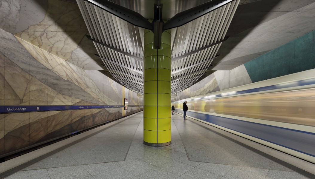 Munich Subway Station Großhadern 01