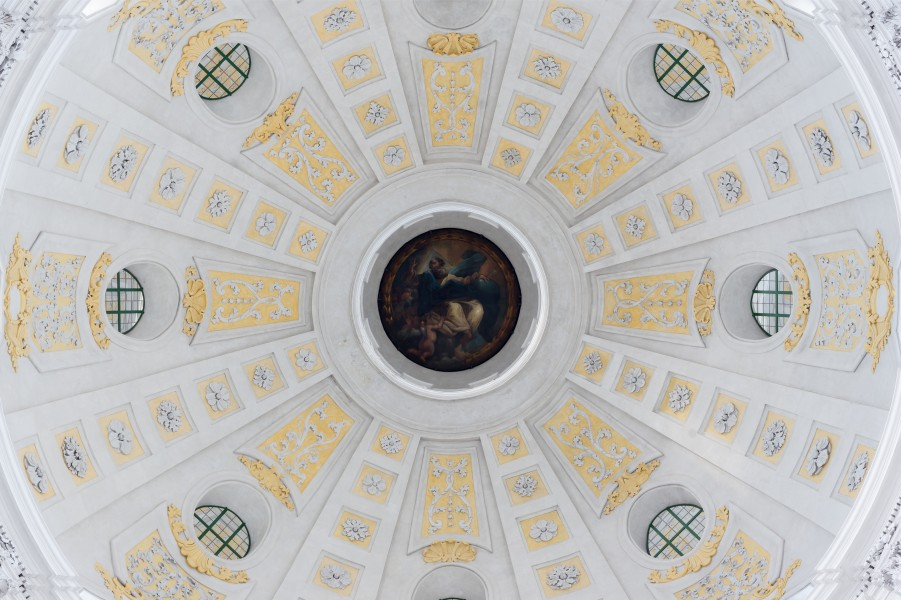 Oculus cupola Theatinerkirche Munich