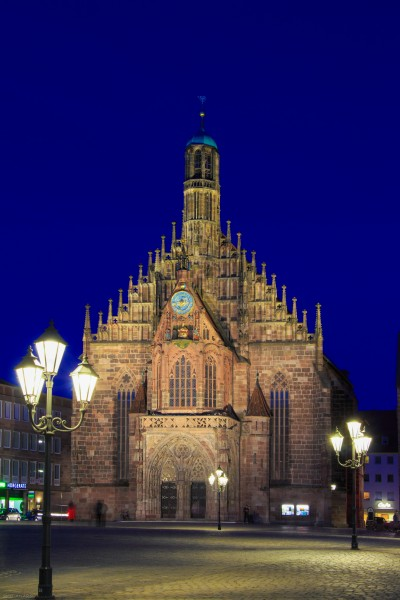 Frauenkirche in Nuremberg 2015