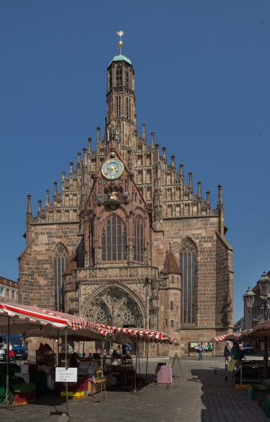 Nuremberg, Hauptmarkt and Frauenkirche 4641
