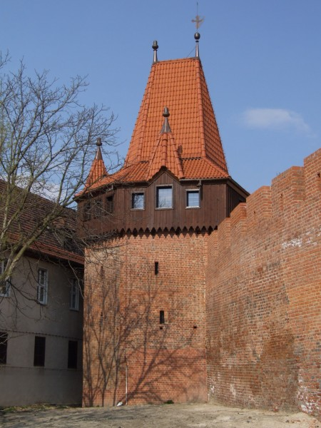 Wall tower in Oppeln