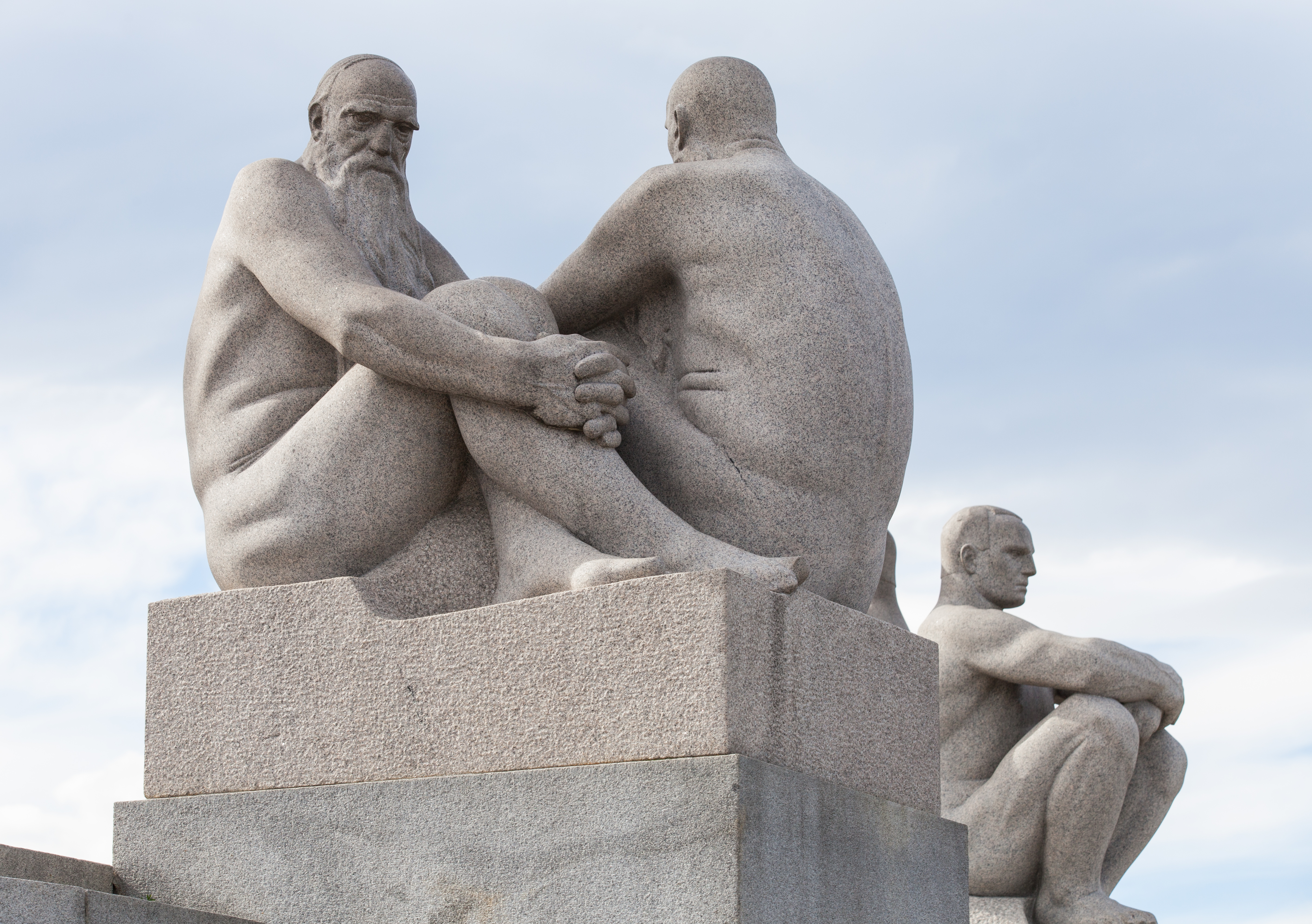 Vigeland park, Oslo, Norway, June 2014, picture 32