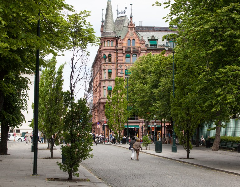 Oslo city, Norway, June 2014, picture 5