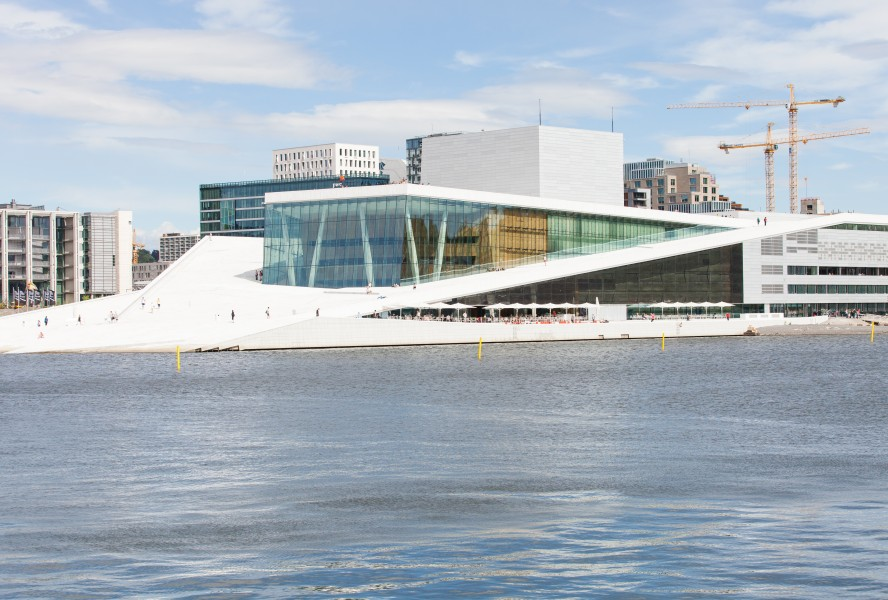 Oslo opera, Oslo city, Norway, June 2014, picture 7