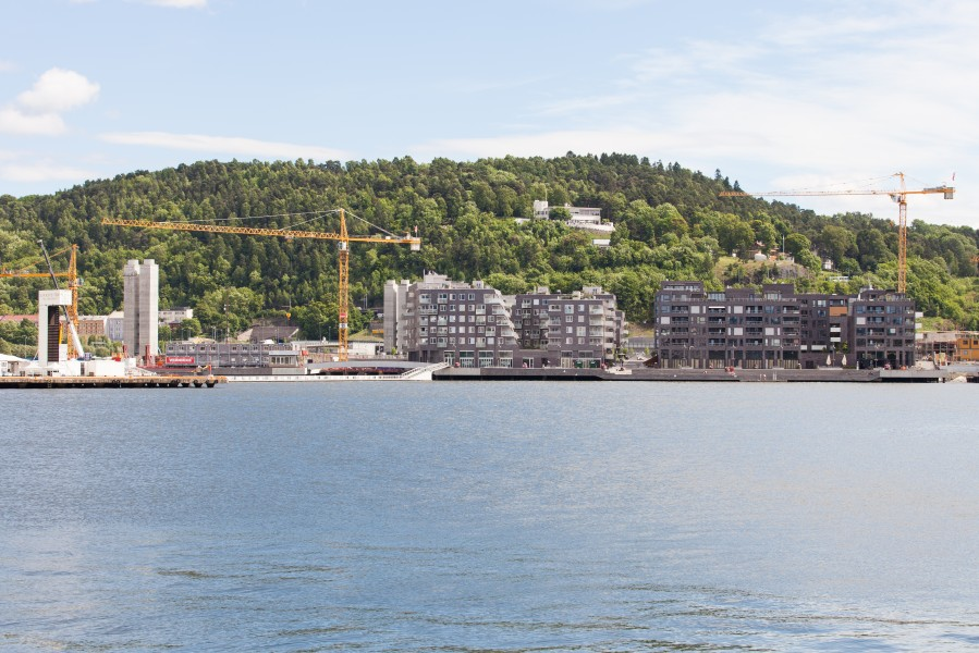 Oslo city, Norway, June 2014, picture 8