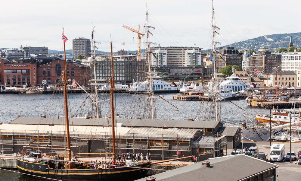 Oslo city, Norway, June 2014, picture 20
